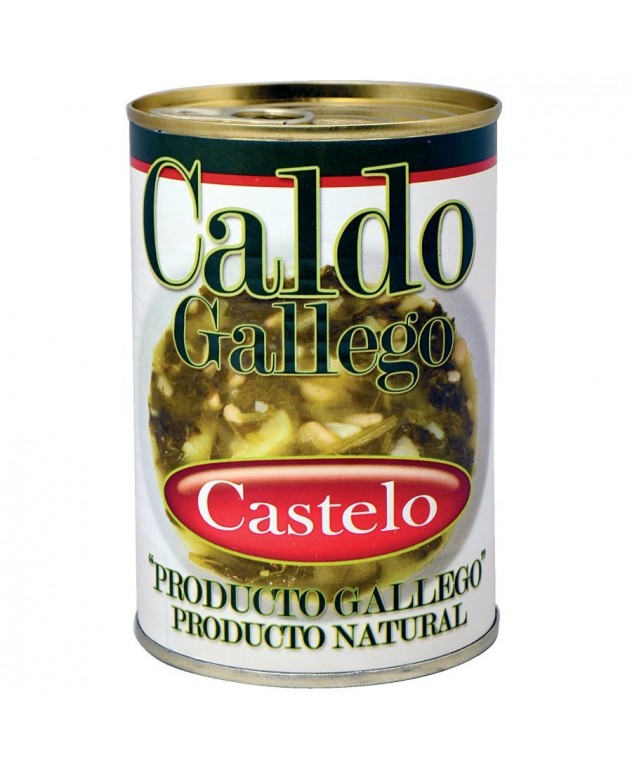 Caldo gallego CASTELO lata...
