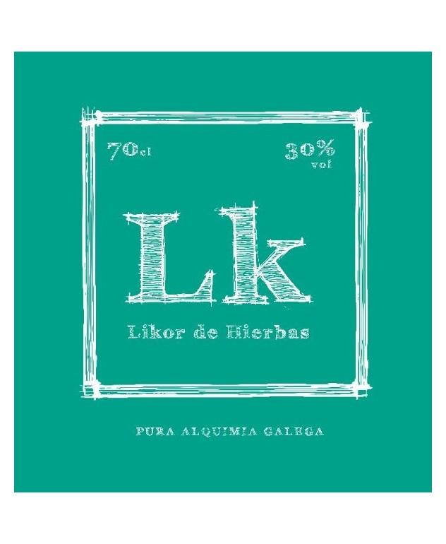 Licor de Hierbas Artesano Lk
