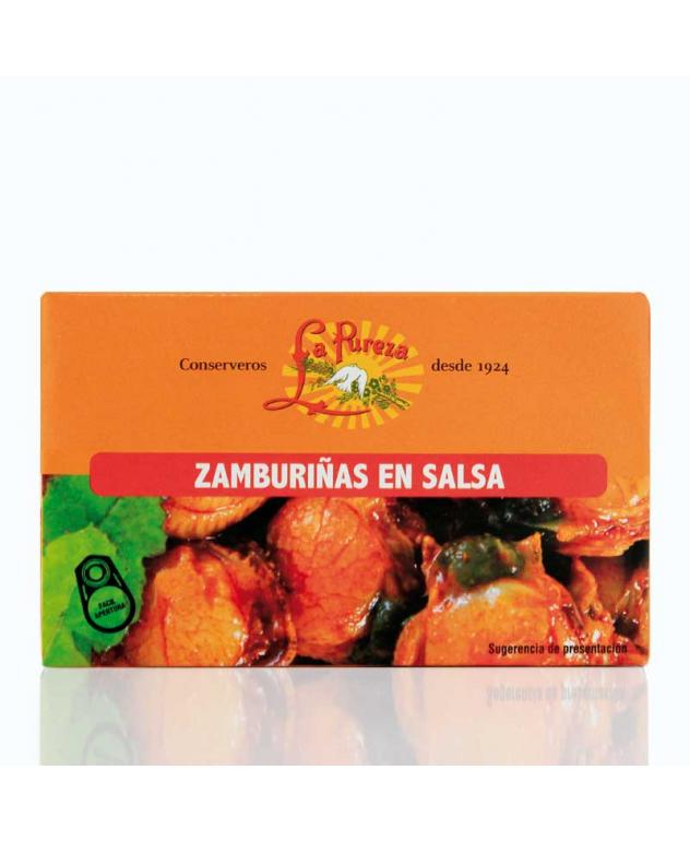Zamburiñas en Salsa de...